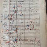 Mengelberg's score opus 15 Maestoso